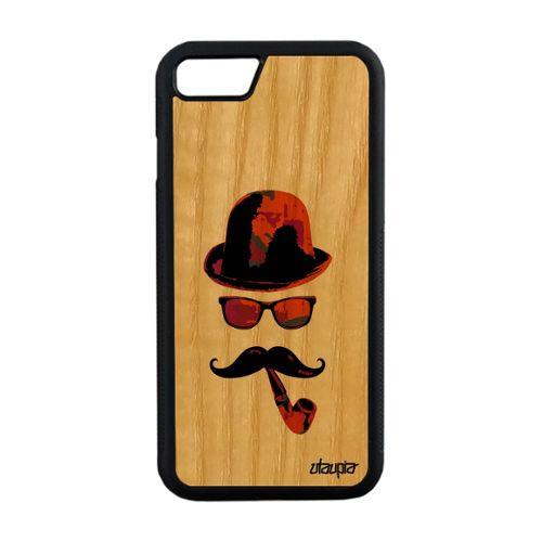 coque iphone 8 moustache