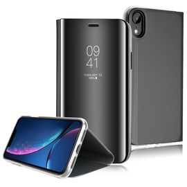 coque iphone xr clear view etui rabat cover flip case etui housse miroir antichoc coque pour iphone xr 1228143056 ML