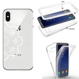 coque iphone xr integrale mandala blanc transparente 1239122058 ML