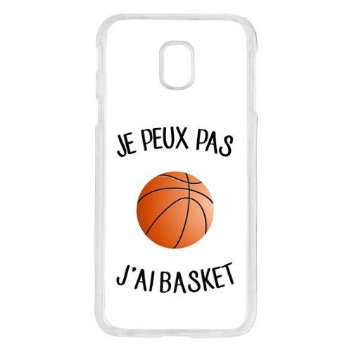 coque transparente samsung j3 2017 basket ball