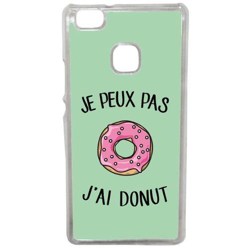 coque de telephone huawei p9 lite en donuts