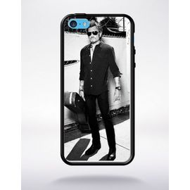 Coque compatible iphone 7 / 8 Johnny Hallyday Moto taille unique