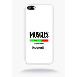 coque muscles en telechargement loading please wait humour compatible apple iphone 5s silicone blanc mat 1228801900 ML