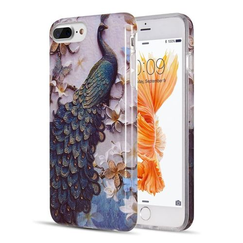 coque iphone 7 paon