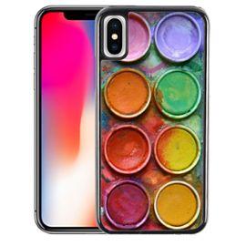 Coque Pour Iphone Xr Palette Peinture Accessoires Mobiles Rakuten