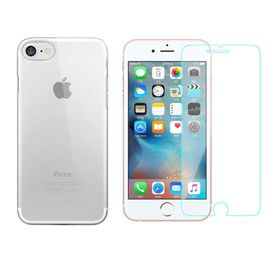 coque rigide film de protection transparente pour iphone 8 4 7 coque dure solide 1145071449 ML