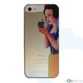 coque rigide transparente blanche neige pour iphone 5 et 5s 1030288255 ML