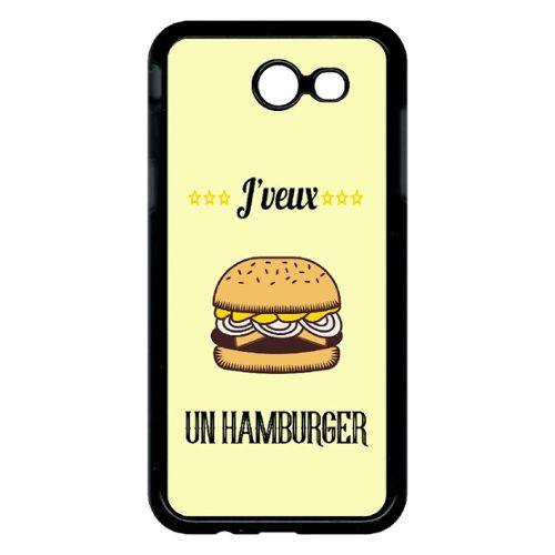 coque samsung j3 2017 hamburger