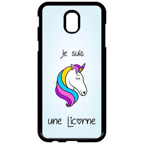 coque licorne samsung j5 2017