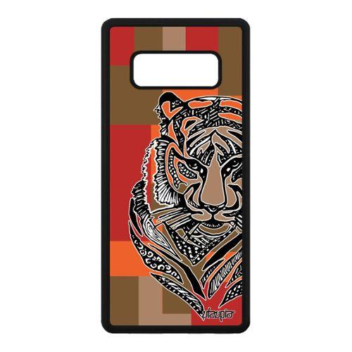 coque samsung note 8 tigre