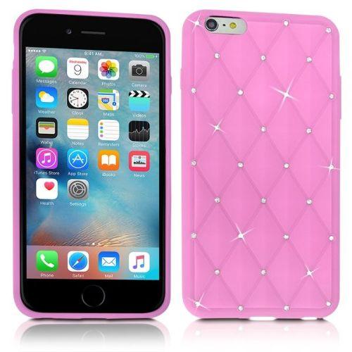 coque iphone 6 rose pale silicone