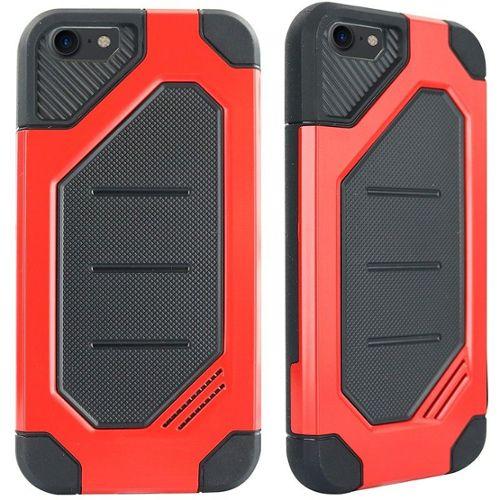 coque iphone 6s rouge et noir