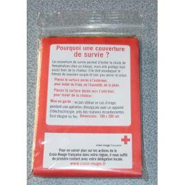 authenic marqué neuf Croix rouge couvertures