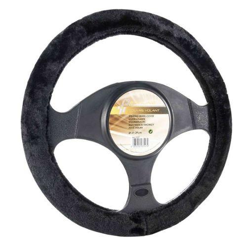 Pour FIAT DUCATO MK3 noir en cuir perforé volant couvre coutures rouge