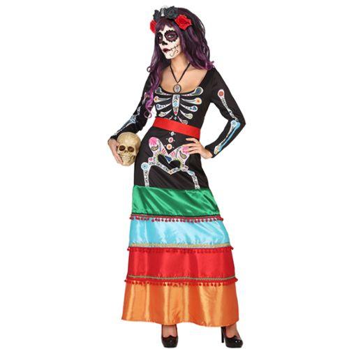 Zombie Ninja Squelette Robe Fantaisie Garçons SAMUARI Warrior Kids Halloween Costume