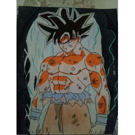 Dessin Sin Goku Ultra Instinct Insolite Rakuten