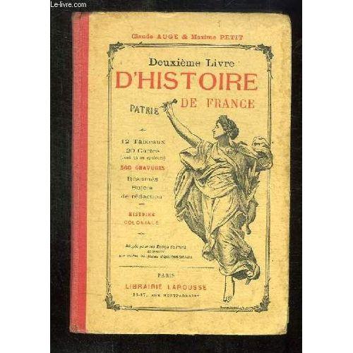 Deuxieme Livre D Histoire De France France Et Colonies
