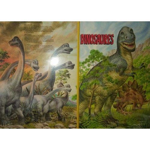 Dinosaures Livre Format Geant