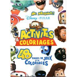 Disney Pixar Livre Et Coloriage