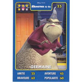 Black Friday Disney Pixar Monstres Cie Germaine Carte
