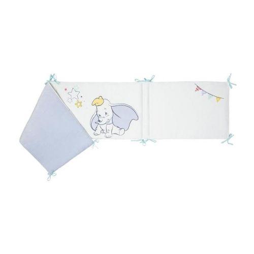 Disney Tour De Lit Adaptable Dumbo Disney Classic Velours 100 Polyester 40 X 180 Cm Lacet