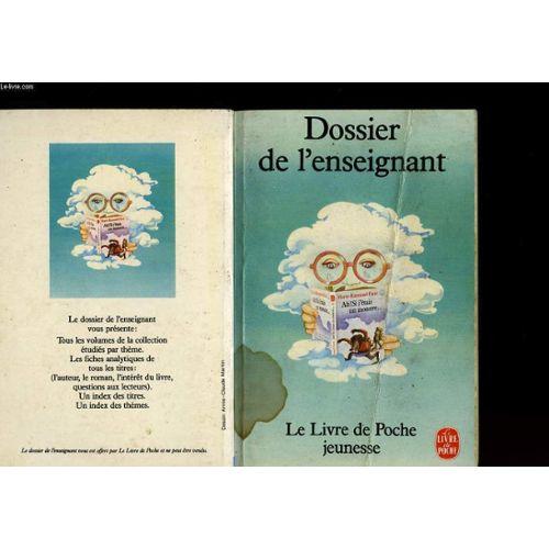 Dossier De L Enseignant Le Livre De Poche Jeunesse