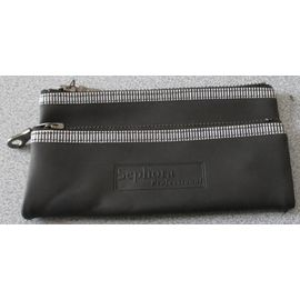 Royaume-Uni disponibilité 10603 b2bb6 Double Trousse de maquillage Sephora Professional - un compartiment 15x8cm  et un espace pinceaux 16x5cm zippés et clipsés l'un sur l'autre - matière  ...