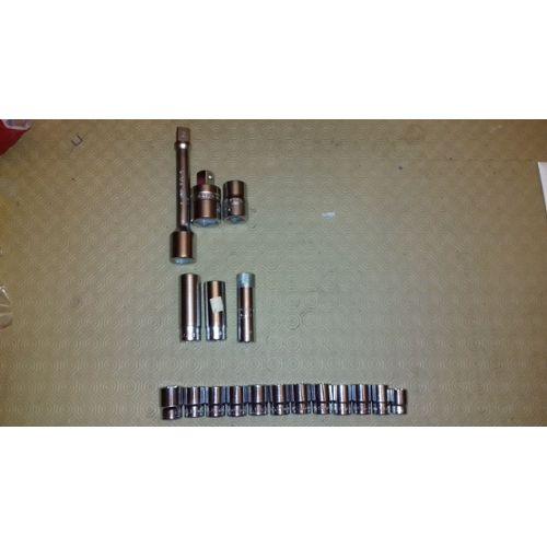 Carbure de tungstène Single Cut Rotary bavures fichier forme ovale W 1//8 pouces Shank 2pcs