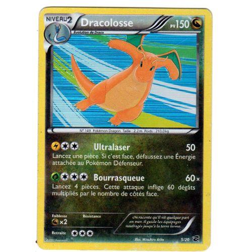 Carte Pokemon DRACOLOSSE 5//20 Holo Promo Coffre des Dragons FR NEUF
