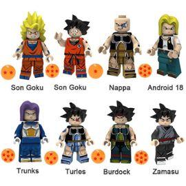 Dragon Ball Z Dessin Anime Petite Figurine Goku Vegeta Piccolo Maitre Roshi Krillin Bloc De Construction Brique Jouet Pour Enfants Enfant Garcon Rakuten