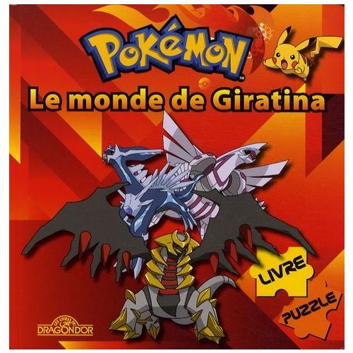 Pokemon Le Monde De Giratina Livre Puzzle