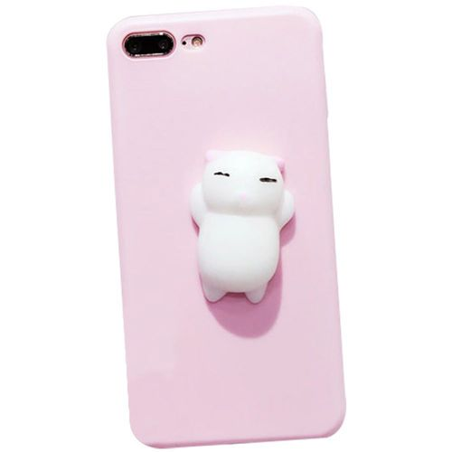 coque iphone 7 chat silicone 3d