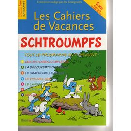 Les Cahiers De Vacances Schtroumpfs 9ans Cm1 Rakuten
