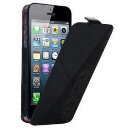etui coque housse rabat kenzo lux cuir glossy iphone 5 couleur noir 932244639 ML