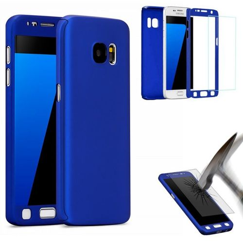 coque galaxy s6 edge bleu