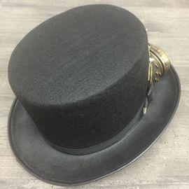 Chapeau Steampunk Goggles Clous Rétro Engrenage Boussole Expédié de Paris