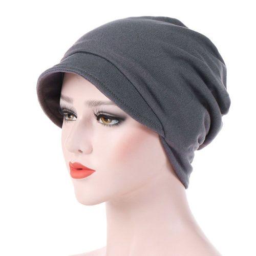 Beani slouch avec Ancre Casquette chimiothérapie perte de cheveux super légères Casquette
