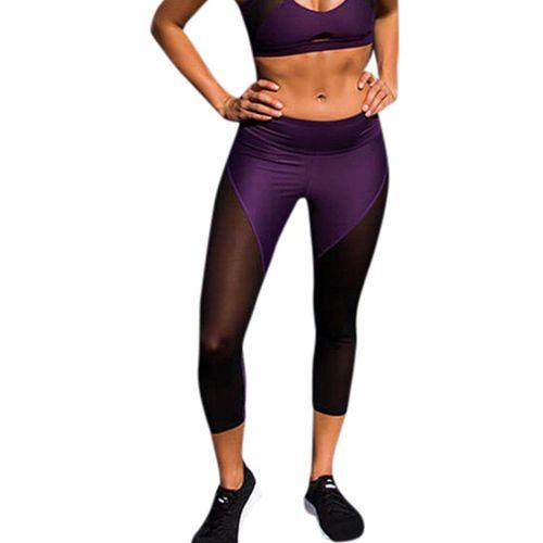 Mesdames Plaine Coton Leggings Longueur 1//2 pour femme Summer Sports Wear Short Leggings