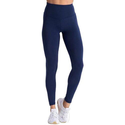 Femmes Coton Spandex pleine longueur Yoga Slim Pantalon Leggings S-5XL 32 Couleurs USA