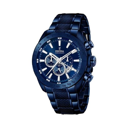 Montre F16887 Bleu Festina Acier 1 Bracelet Quartz Multicolore Cadran Analogique Homme TwOukXiPZ