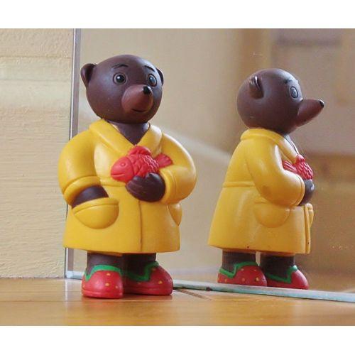 Jouet Jeux Figurine en plastique Petit ours brun Unité ou Lot aux choix TBE