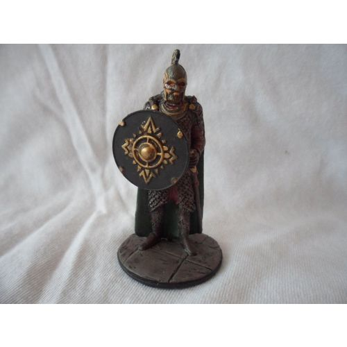 BRASS KING /& Plastic CASTLE WALLS MEDIEVAL Figurine Kinder Surprise Metal Figure