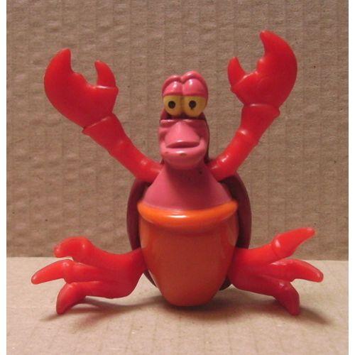 Figurine La Petite Sirène Le Crabe Sebastien Sebastian Disney Mcdonald S Fin 90 S