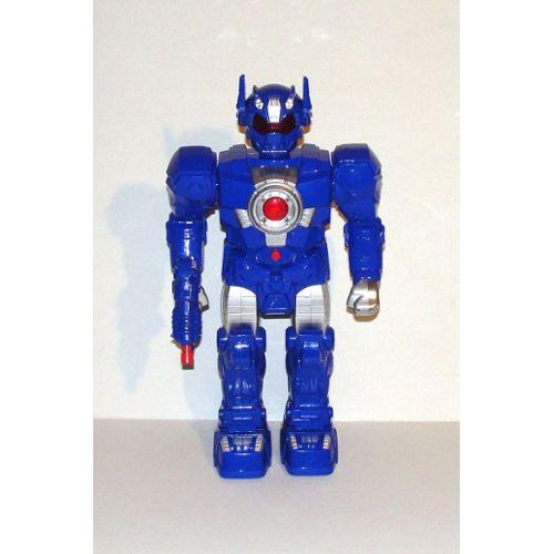 Figurine Robot Sonore Lumineux Articulé Roulant Gifi 38 Cm