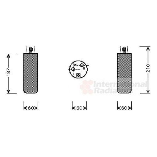 Homme-Filtre carburant filtre carburant filtre FORD LTI wk8105
