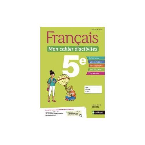 Francais Mon Cahier D Activites 5e
