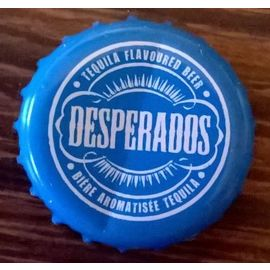 France Capsule Biere Beer Crown Cap Desperados Tequila Lemon Cactus Bleue Rakuten