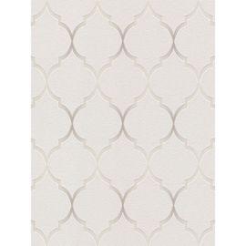 Fretwork Papier Peint Geometrique Gris Rasch 701609