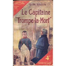 Le Capitaine Trompe La Mort Livre Ancien Rakuten