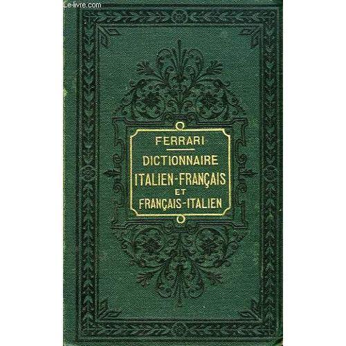 Nouveau Dictionnaire Italien Francais Et Francais Italien